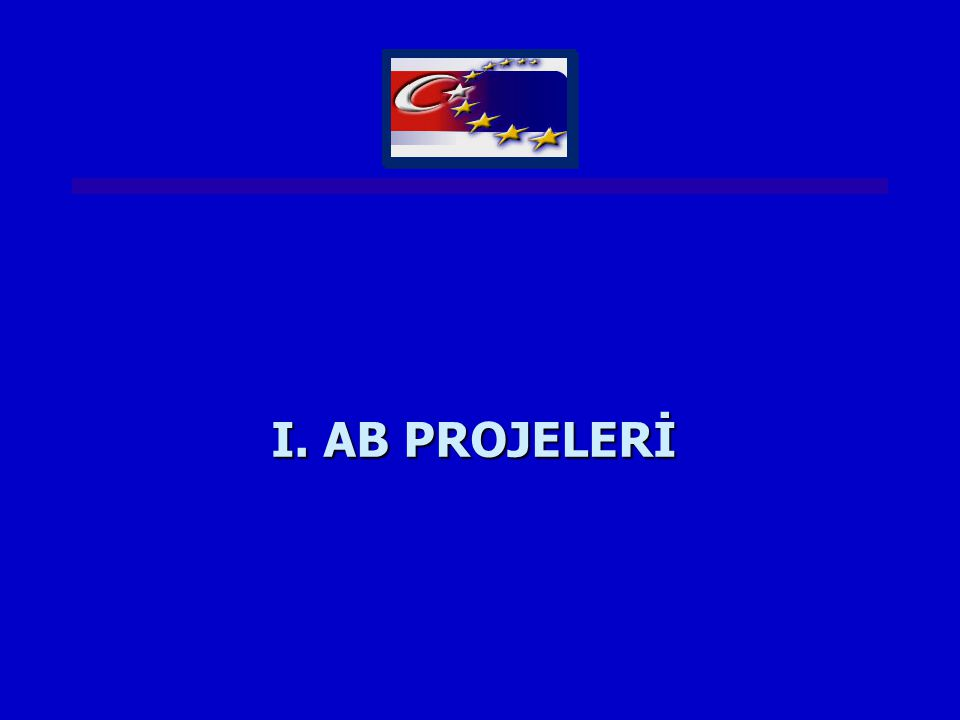 I. AB PROJELERİ