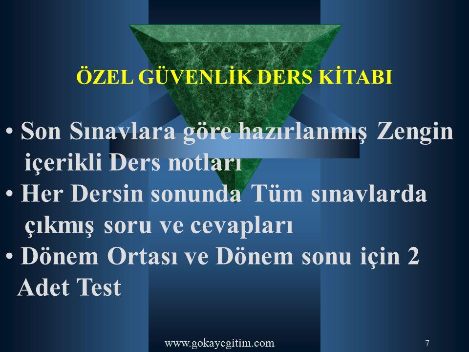 www.gokayegitim.com 83-)Türk Ceza Kanununa göre, çocuk deyiminden henüz kaç yaşını doldurmamış kişi anlaşılır.
