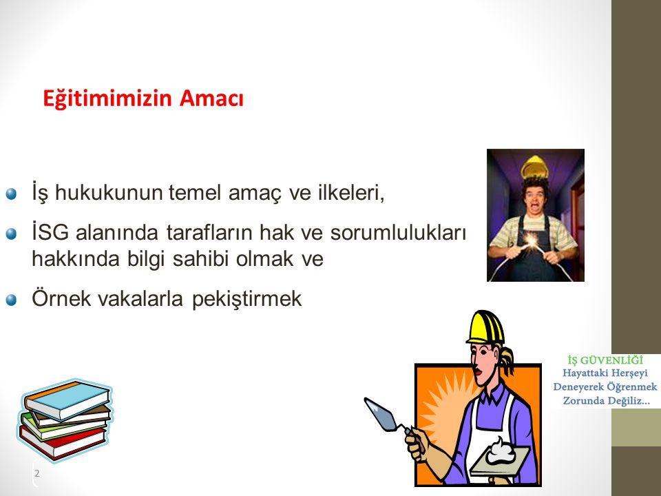 23 2.İşverenin Hak ve Yükümlülükleri 2.3.