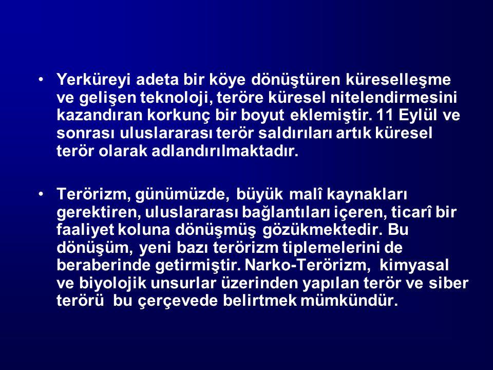Uluslararası İşbirliği 1) Karşılıklı Adlî Yardımlaşma 2) Suçluların İadesi