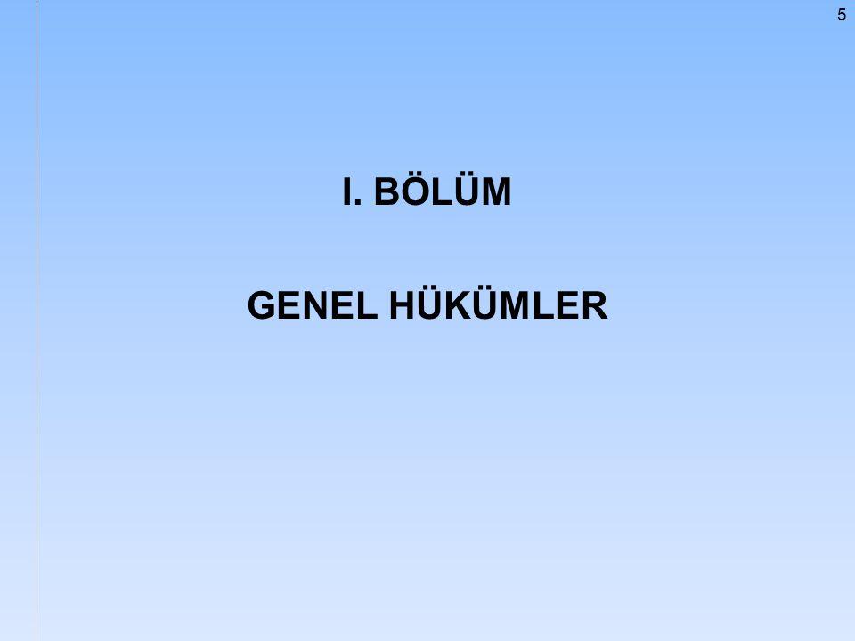 156 Sınava Tabi Olmayanlar (md.6) 3568 sayılı Kanunun; 5.