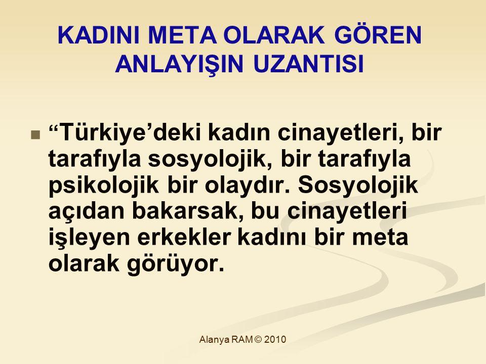 """KADINI META OLARAK GÖREN ANLAYIŞIN UZANTISI """" Türkiye'deki kadın cinayetleri, bir tarafıyla sosyolojik, bir tarafıyla psikolojik bir olaydır. Sosyoloj"""
