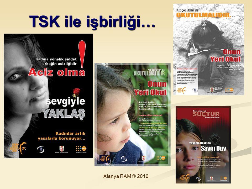TSK ile işbirliği… TSK ile işbirliği… Alanya RAM © 2010