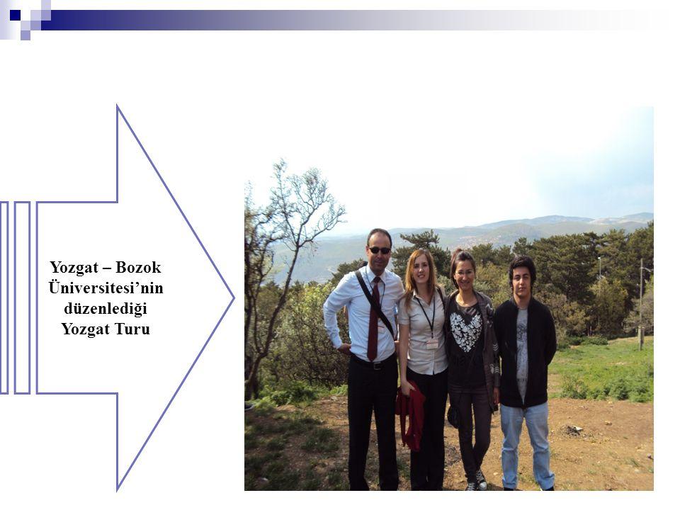 Yozgat – Bozok Üniversitesi'nin düzenlediği Yozgat Turu