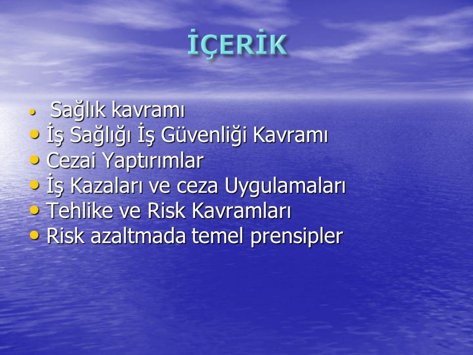 İŞ KAZASI MEYDANA GELDİKTEN SONRA: İŞ KAZASI MEYDANA GELDİKTEN SONRA: a) Hukuki sorumluluklar – Borçlar Kanunu a) Hukuki sorumluluklar – Borçlar Kanunu b) Cezai sorumluluklar – Türk Ceza b) Cezai sorumluluklar – Türk Ceza CEZA HUKUKUNDA KİŞİNİN CEZALANDIRILMASI KUSURA DAYANMAKTADIR.