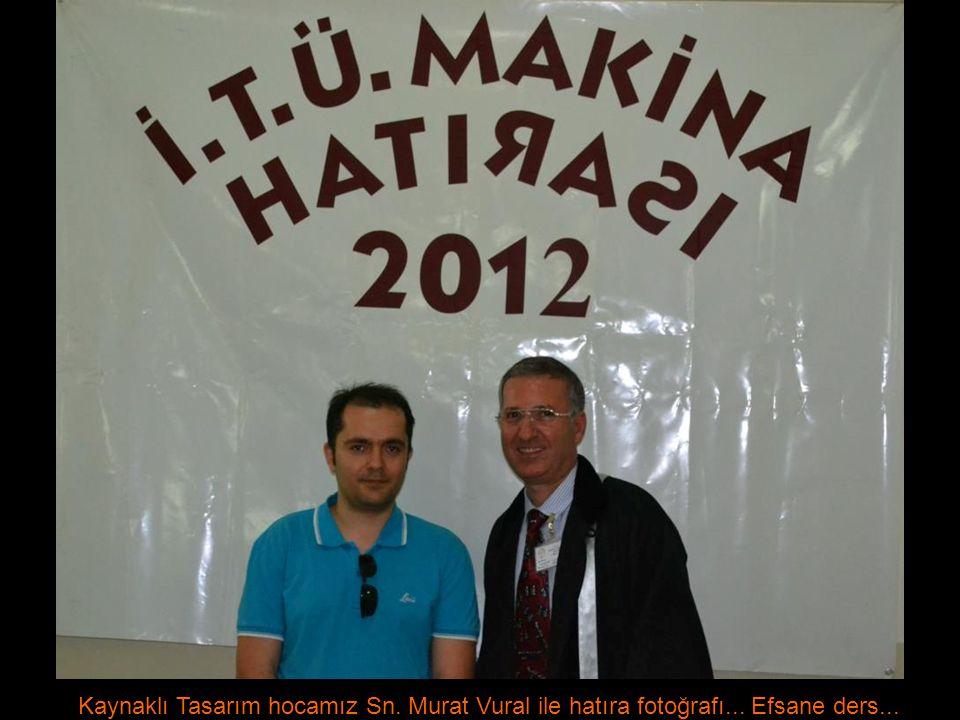 Kaynaklı Tasarım hocamız Sn. Murat Vural ile hatıra fotoğrafı... Efsane ders...