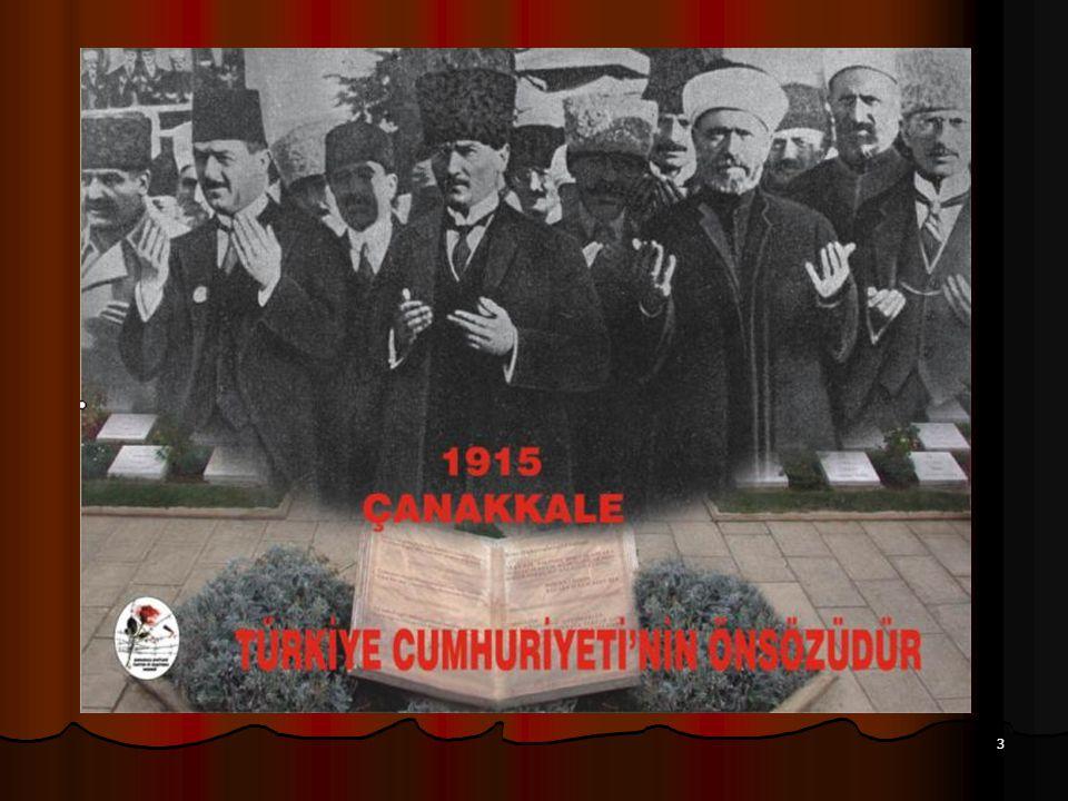 34 KEPSUT'TAKİ SANCAK Çanakkale Savaşı sonunda dinlendirilmek üzere Kepsut'a getirilen alayımızın, 1918'de lav edilmesi üzerine Kepsut'a bıraktıkları sancak.