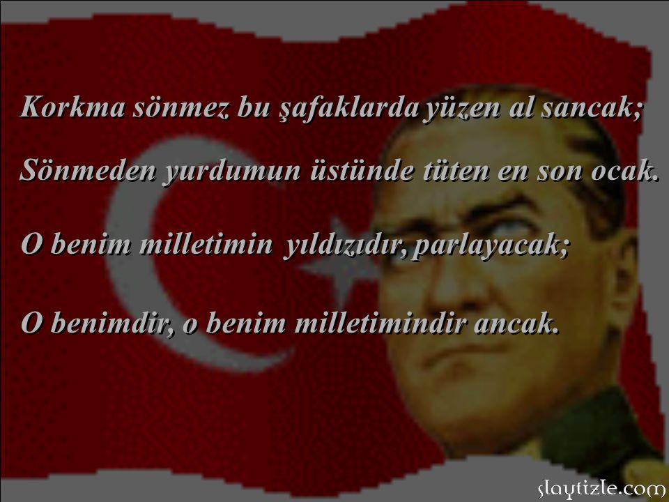 İstiklal Marşımızın yazarı, Büyük şair; M.