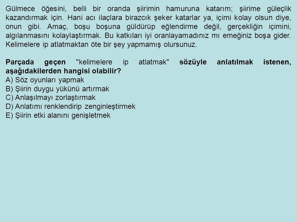 Türk edebiyatını küçük düşürmemek şartıyla, edebiyat tarihimizin, dünya edebiyatıyla karşılaştırmalı bir biçimde öğretilmesinde yarar vardır.