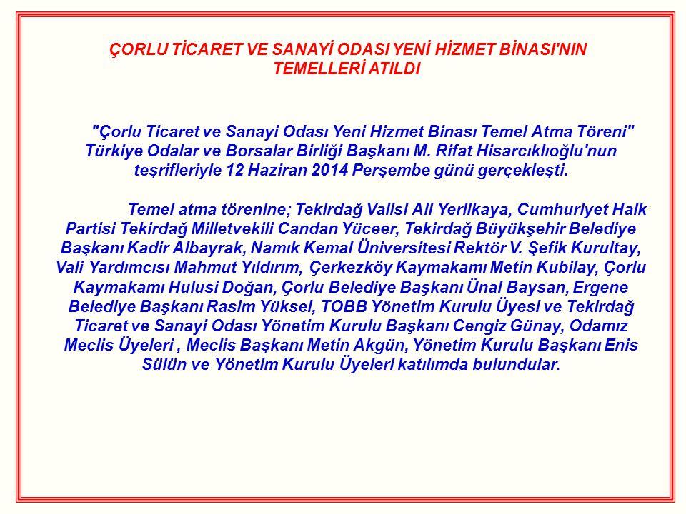 ÇORLU TSO HEYETİ YUNANİSTAN 16.