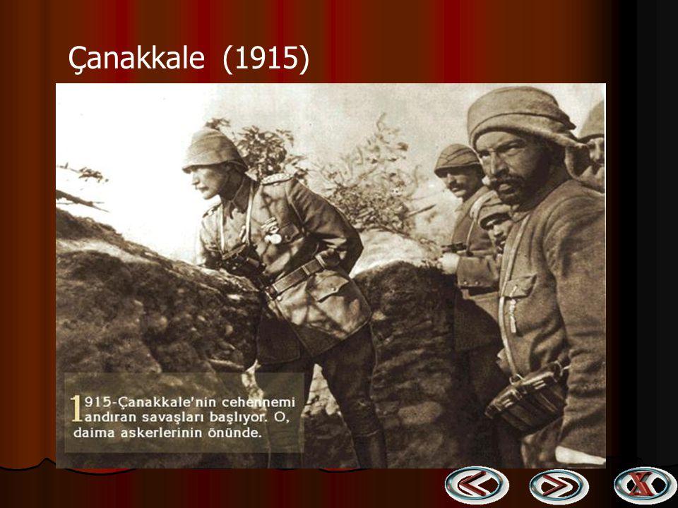 Gelibolu Yarımadası Genel Kumandanı Atatürk (1915) Gelibolu Yarımadası Genel Kumandanı Atatürk (1915)