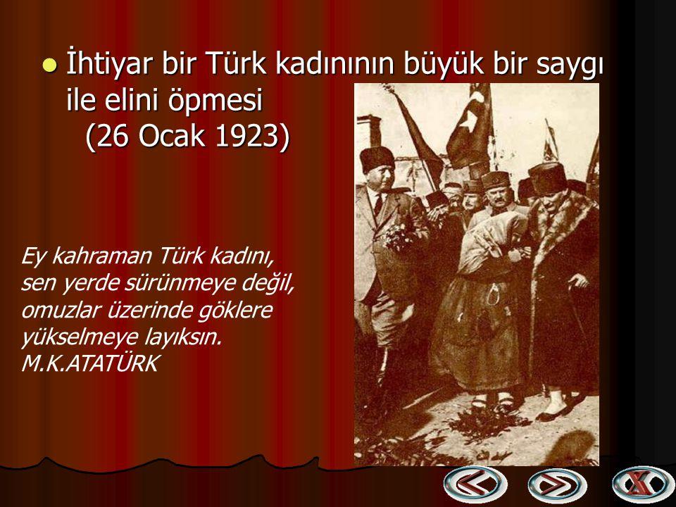 Atatürk İzmir'de (10 Eylül - 1 Ekim 1922) Atatürk İzmir'de (10 Eylül - 1 Ekim 1922) Ben icap ettiği zaman en büyük hediyem olmak üzere, Türk Milletine