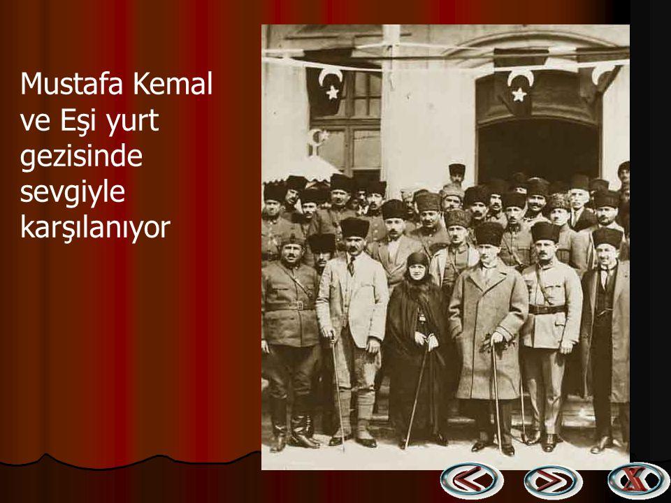Atatürk eşi ile birlikte Atatürk eşi ile birlikte