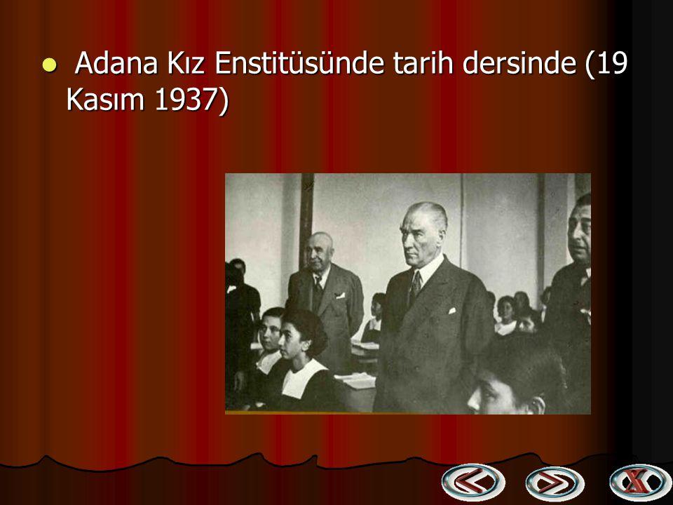 Atatürk, Ali Çetinkaya ve Sabiha Gökçen Diyarbakır'da (16 Kasım 1937) Atatürk, Ali Çetinkaya ve Sabiha Gökçen Diyarbakır'da (16 Kasım 1937)