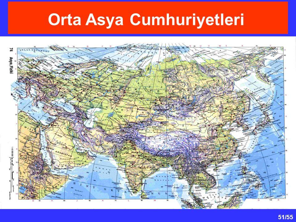 51/55 Orta Asya Cumhuriyetleri