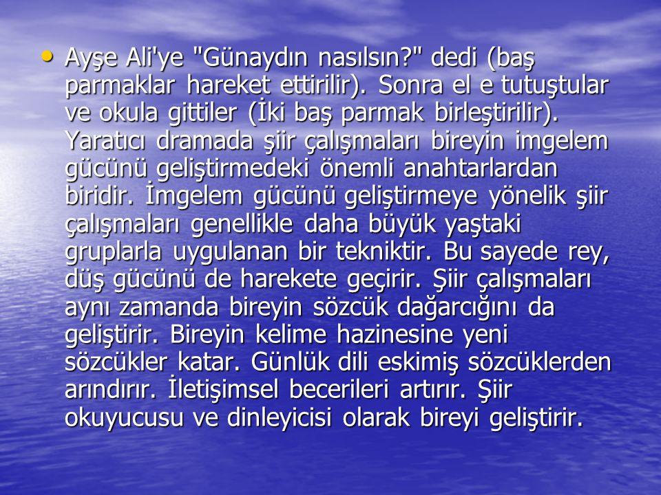 Ayşe Ali'ye