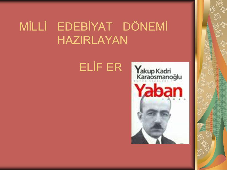 YAHYA KEMAL (1884- 1958) Divan şiiriyle Batı şiirini ustalıkla kaynaştırmıştır.