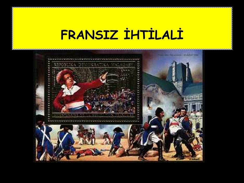 FRANSIZ İHTİLALİ