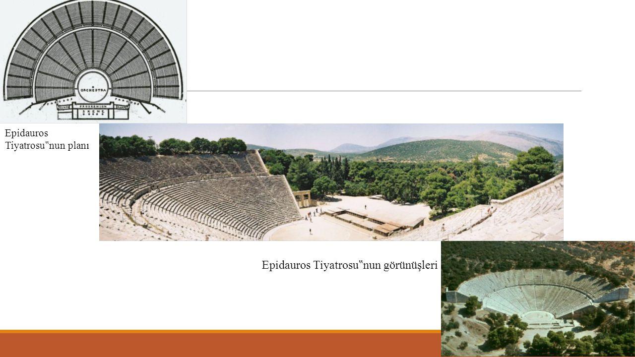 Roma Tiyatrosu Mekânı: Roma felsefesi, Yunan felsefesinden farklı olarak varlığın asal nedeni ve insanın evrenle olan ilişkisi üzerinde değil, insanın bu dünyadaki yaşam biçimi üzerinde durmuştur.