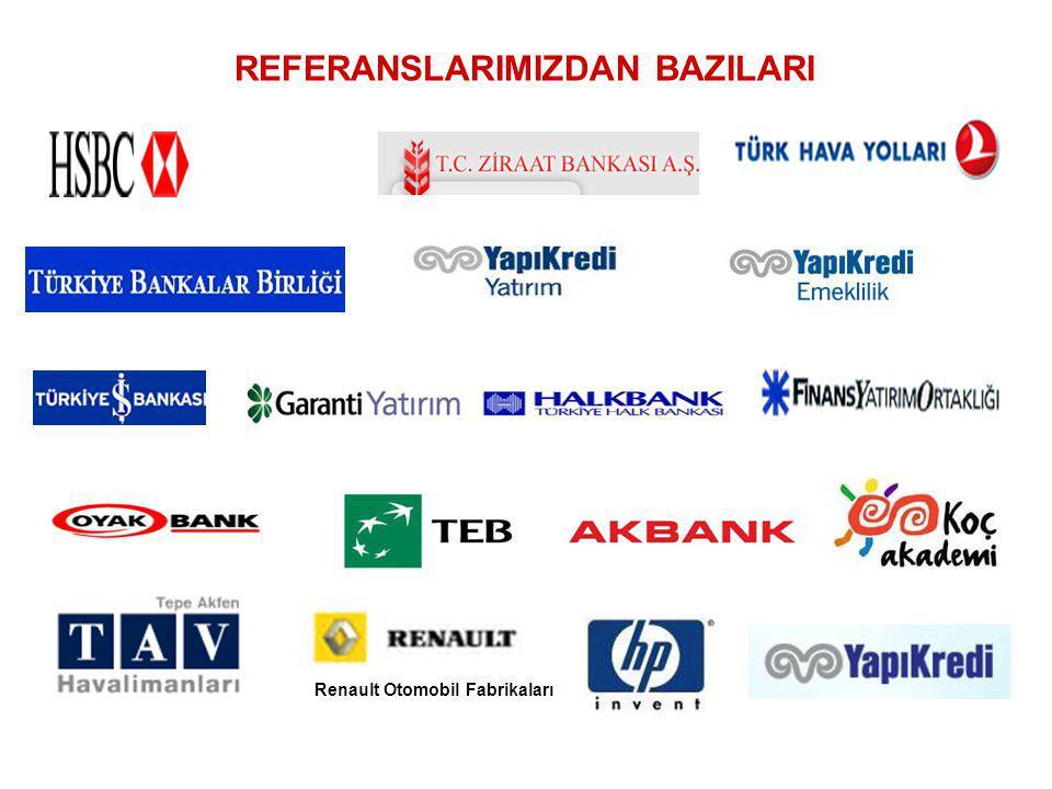 REFERANSLARIMIZDAN BAZILARI Renault Otomobil Fabrikaları