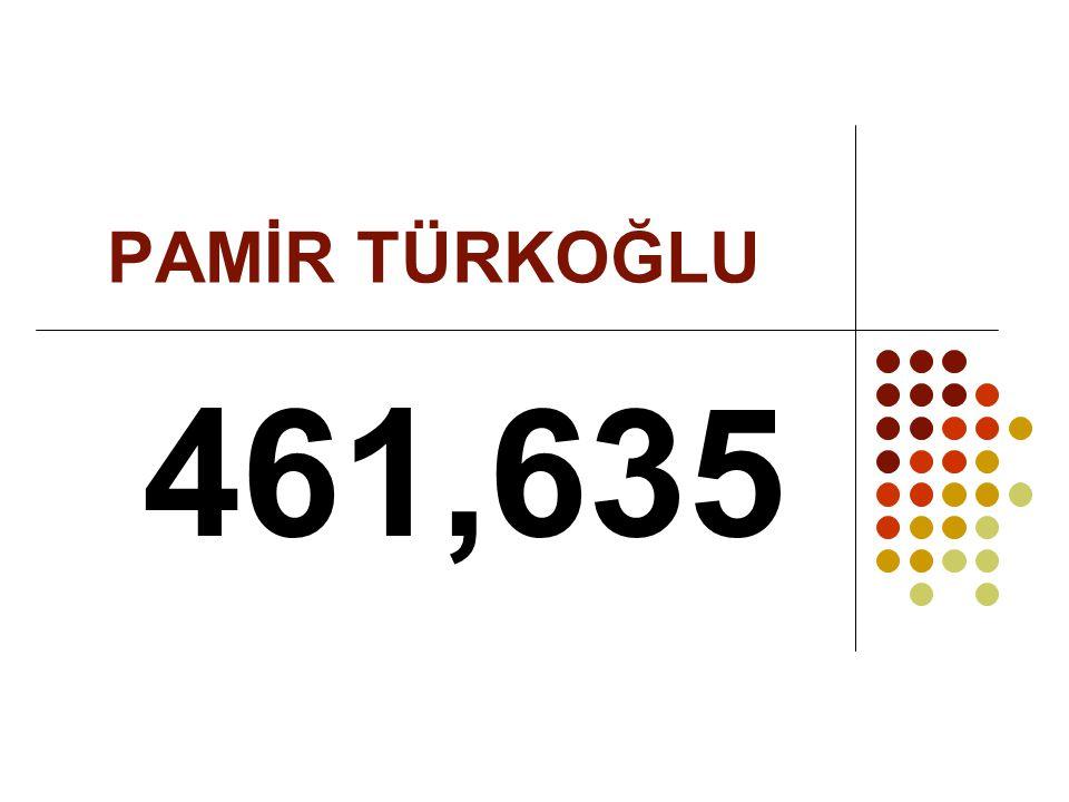 PAMİR TÜRKOĞLU 461,635