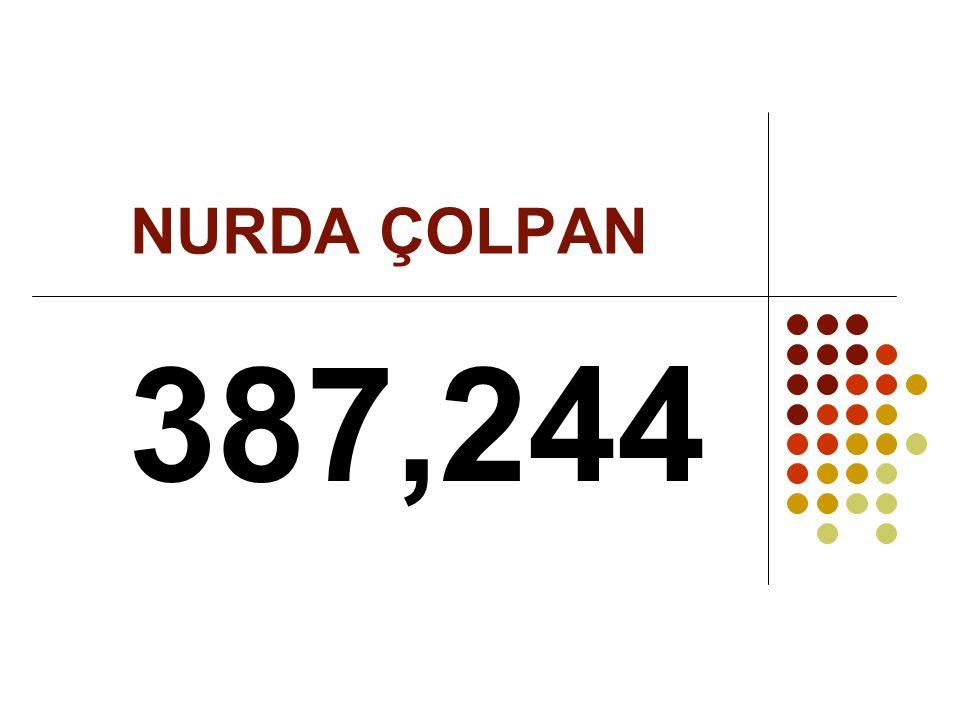 NURDA ÇOLPAN 387,244