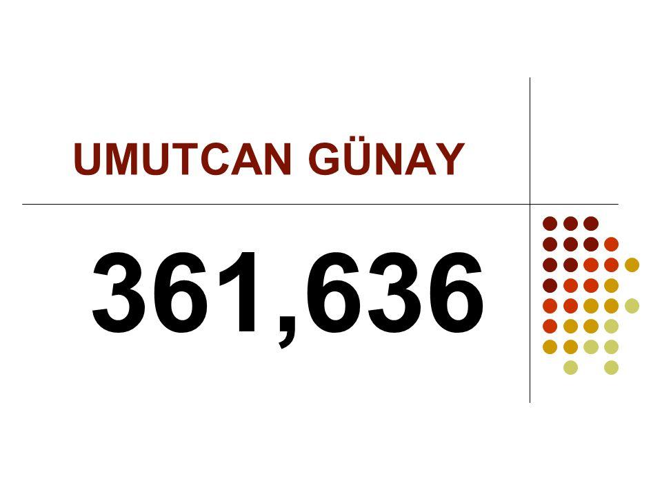 UMUTCAN GÜNAY 361,636