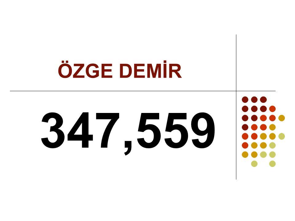 ÖZGE DEMİR 347,559