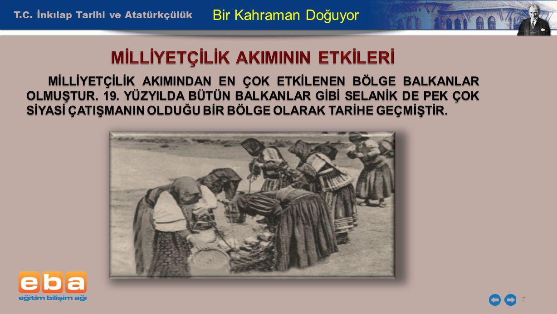 T.C. İnkılap Tarihi ve Atatürkçülük 7 Bir Kahraman Doğuyor