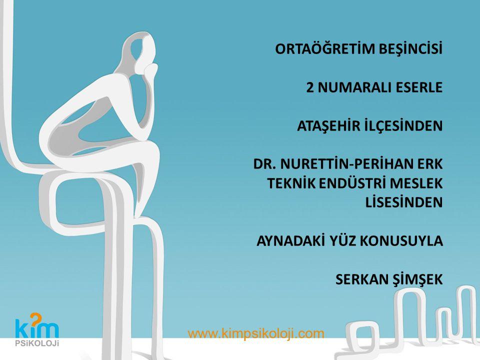 ORTAÖĞRETİM BEŞİNCİSİ 2 NUMARALI ESERLE ATAŞEHİR İLÇESİNDEN DR.