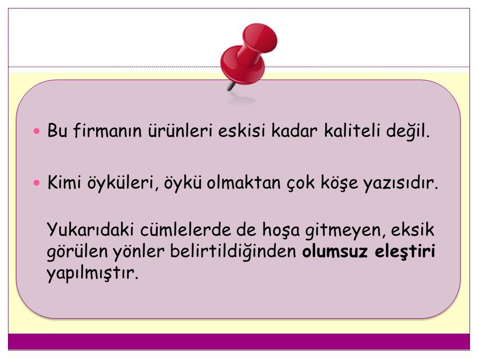 4.AKICILIK Yazının kolay okunabilmesi ve rahatsız eden kelimelerin kullanılmamasını ifade eder.
