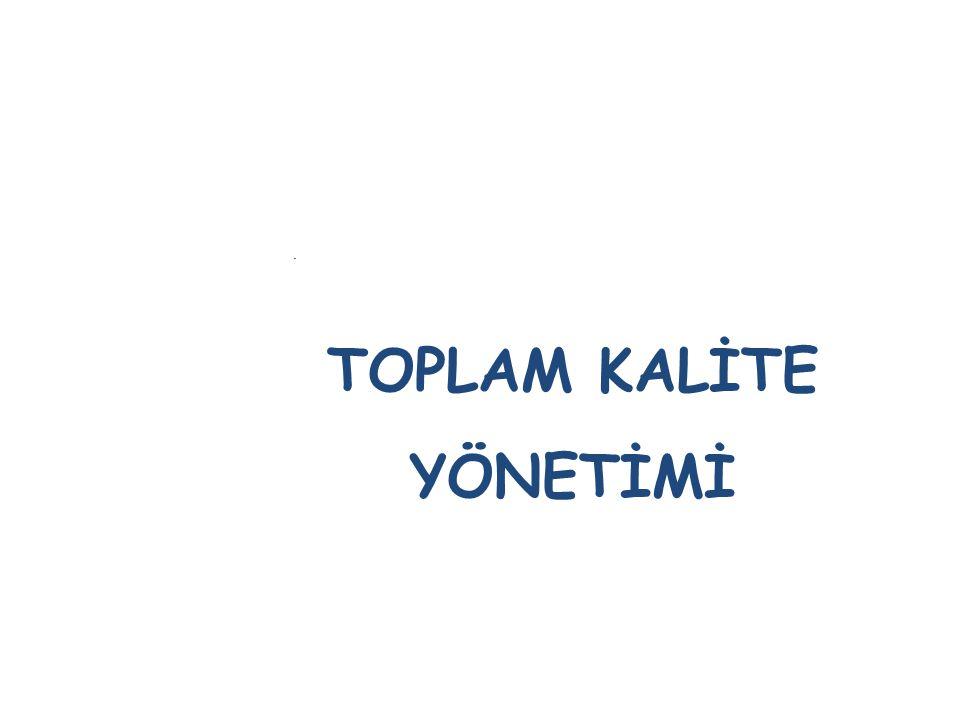 . TOPLAM KALİTE YÖNETİMİ