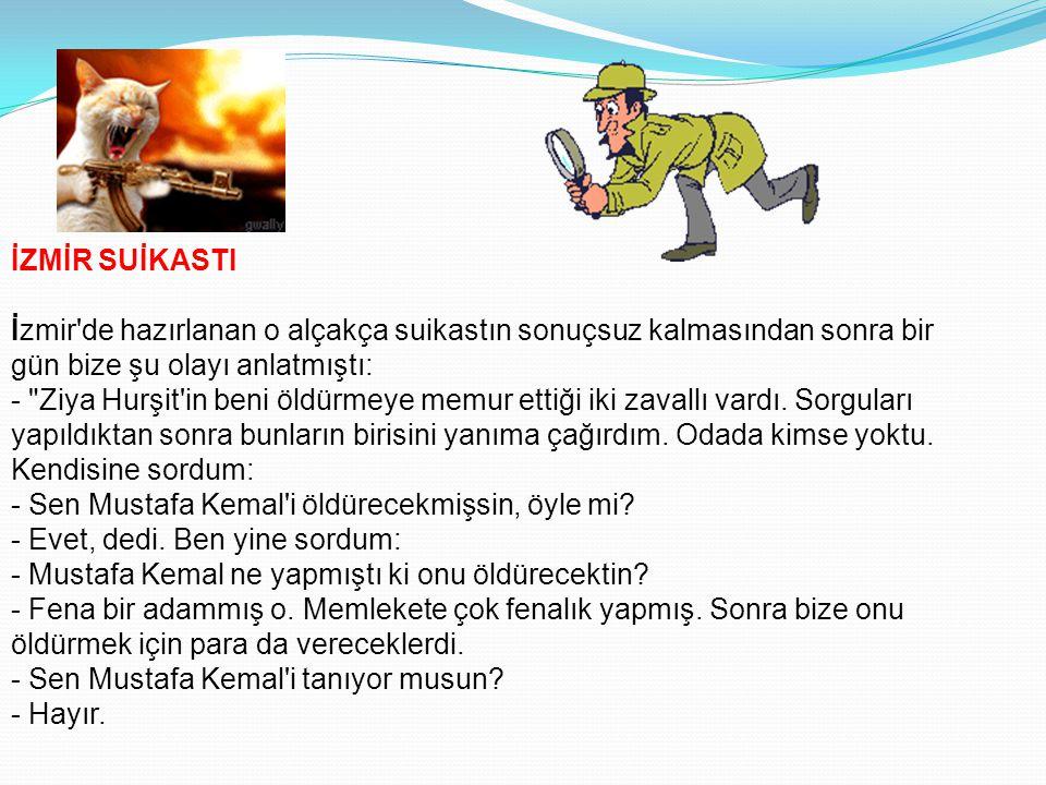 İNANMAYANLAR DA HAKLIYDILAR Mustafa Kemal realist bir liderdi. Lekelemelerin politika kadrosunu nasıl daraltacağını ve kendisini bir avuç partizan tak