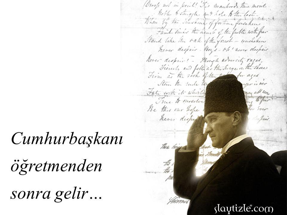 Atatürk bu görüş ve düşüncelerin hiçbirisine yanaşmadı.