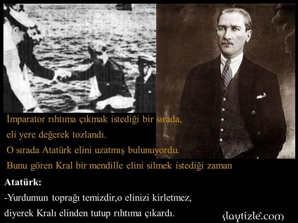 Kral Edvard İstanbul'a geldiği zaman, yatından bir motora binerek Dolmabahçe Sarayına yanaştı.