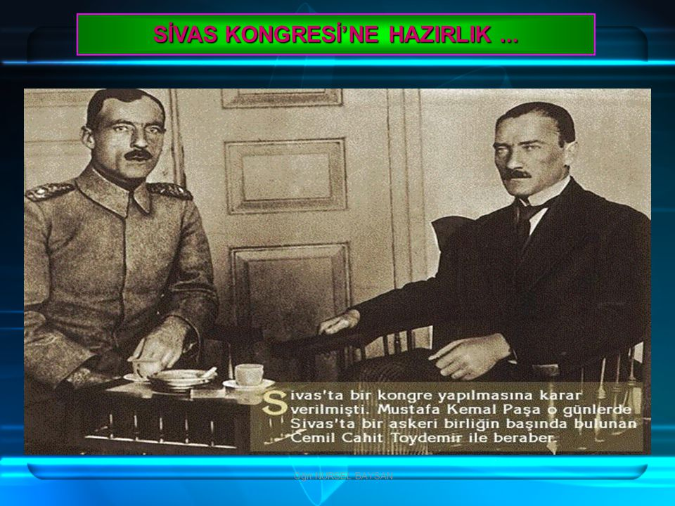Öğrt.NURSEL BAYSAN B İ R İ RANLI, O ' NA METH İ YE OKUMU Ş TU...