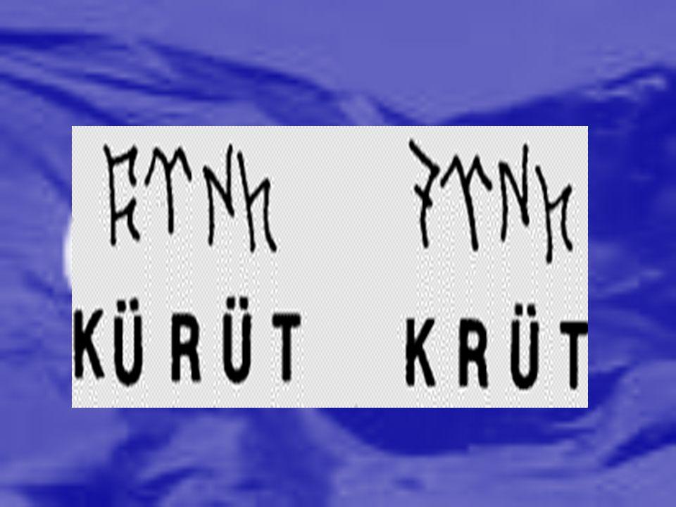 Divan-ı Lugat'it Türk: Kaşgarlı Mahmut tarafından yazılmıştır.