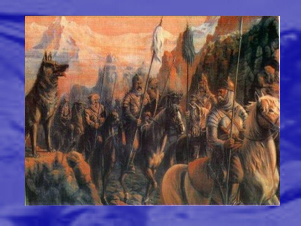 Ergenekon destanı, Göktürkler in türeyişini anlatan bir Türk destanıdır.