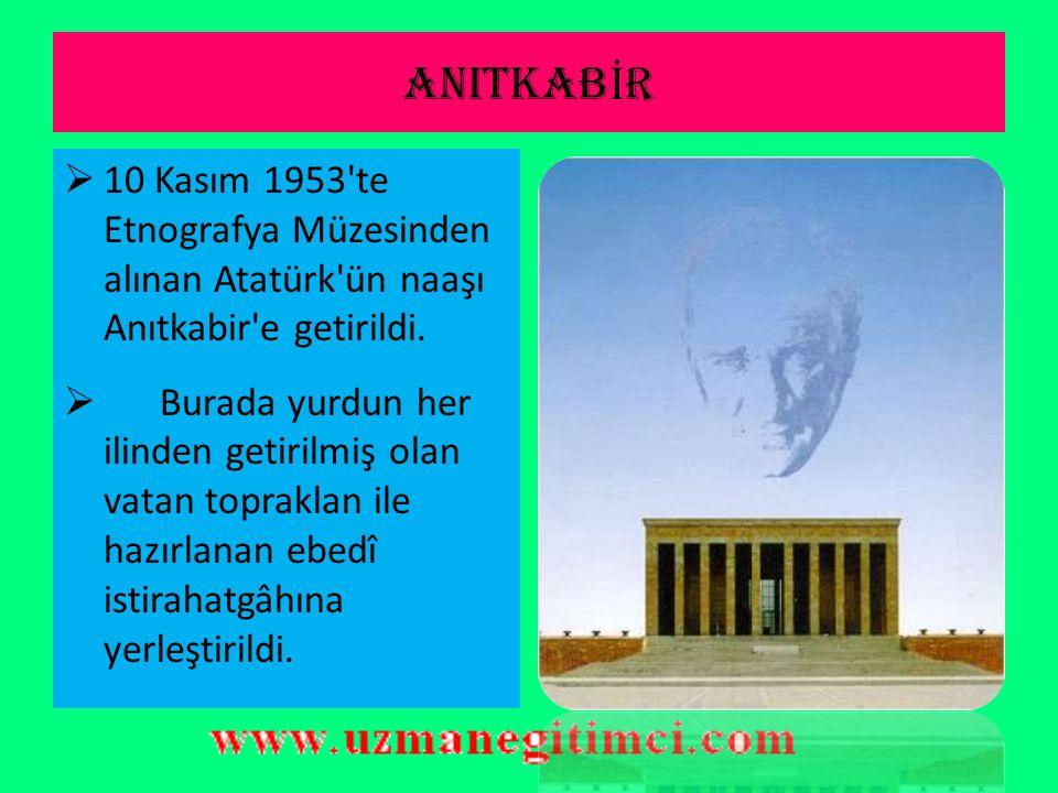ATATÜRK'ÜN SON YILLARI VE ÖLÜMÜ  21 Kasım 1938 Pazartesi günü, sivil ve askerî yöneticiler ile yabancı devlet temsilcilerinin hazır bulunduğu ve on b