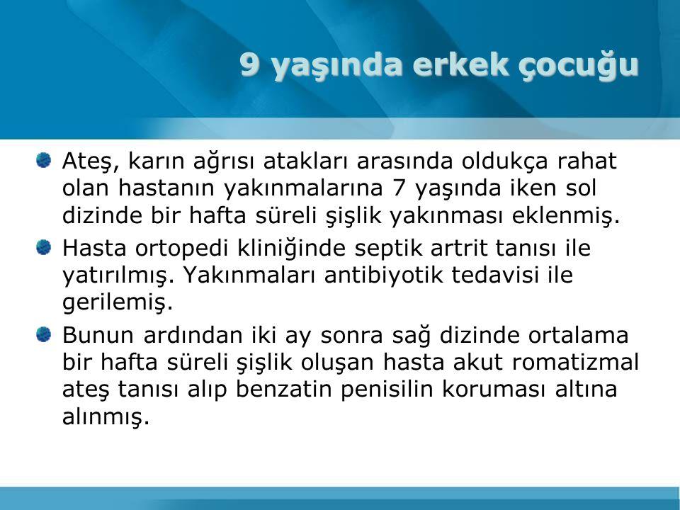 M694V:Sefarad Yahudileri, Türklerde sık (7.000 yıl) V726A:Eskinazi Yahudileri (15.000 yıl)