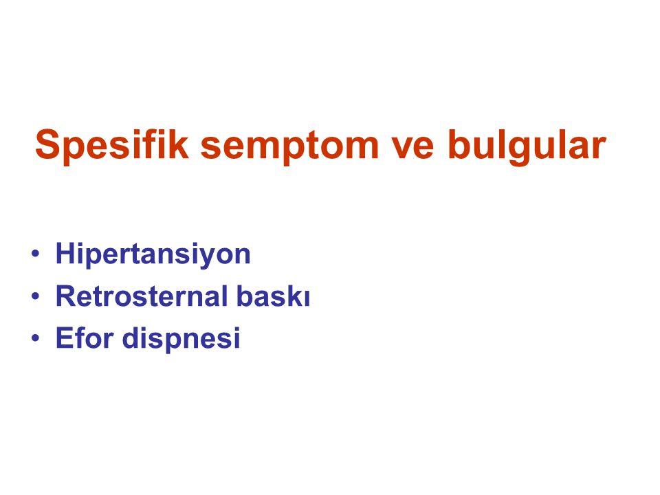 Sekonder hipertansiyon (sistemler)-1 Renal (%3) Renal parankimal patolojiler (2/3) Renal vasküler patolojiler (1/3) Endokrin Feokromositoma (%0.1) Primer hiperaldosteronizm (%0.1) Tirotoksikoz (%0.1) Cushing sendromu (%0.1) Akromegali (%0.1) Metabolik sendrom Primer hiperparatiroidi