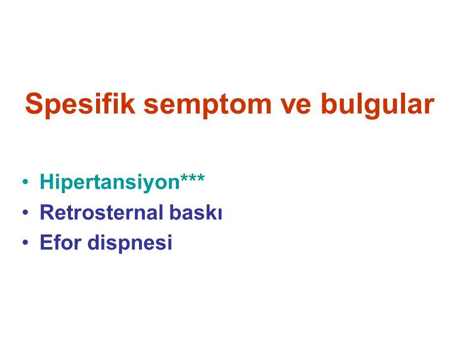 KLİNİK AYIRICI TANI Spesifik semptom-bulgu Fizyopatolojik mekanizma Sistemler*** Klinik patoloji Klinik patoloji Yok Var Kuşkulu Yok Var Kuşkulu LABORATUVAR İNCELEMESİ KESİN TANI