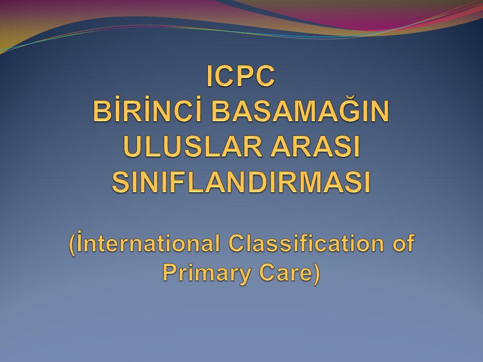 ICD - 10 International Classification of Diseases(UHS) UHS, mortalite nedenlerinin kodlanması için Dünya Sağlık Teşkilatı tarafından geliştirilmiş bir sınıflama türü kodlama sistemidir.