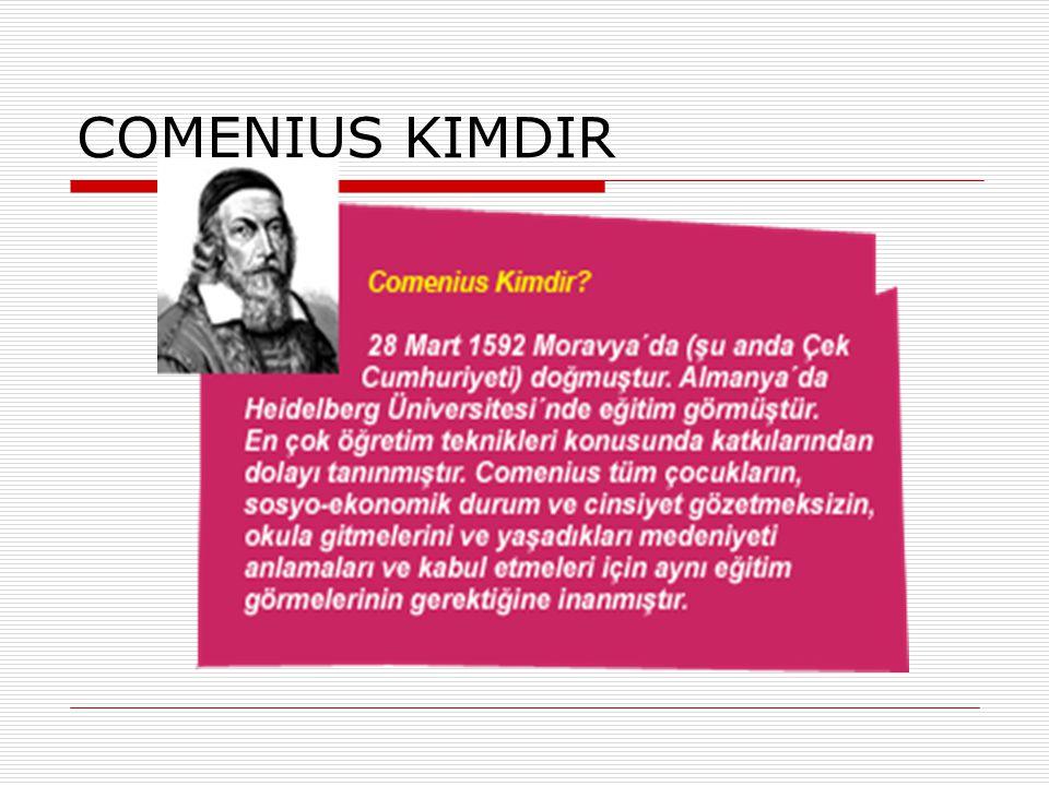 COMENIUS KIMDIR