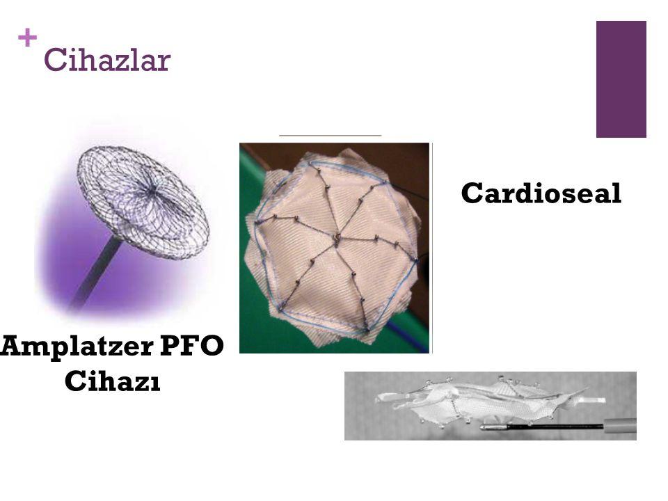 + Cihazlar Amplatzer PFO Cihazı Cardioseal