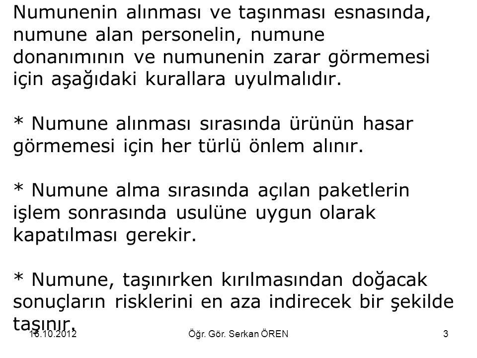 16.10.2012Öğr. Gör. Serkan ÖREN24