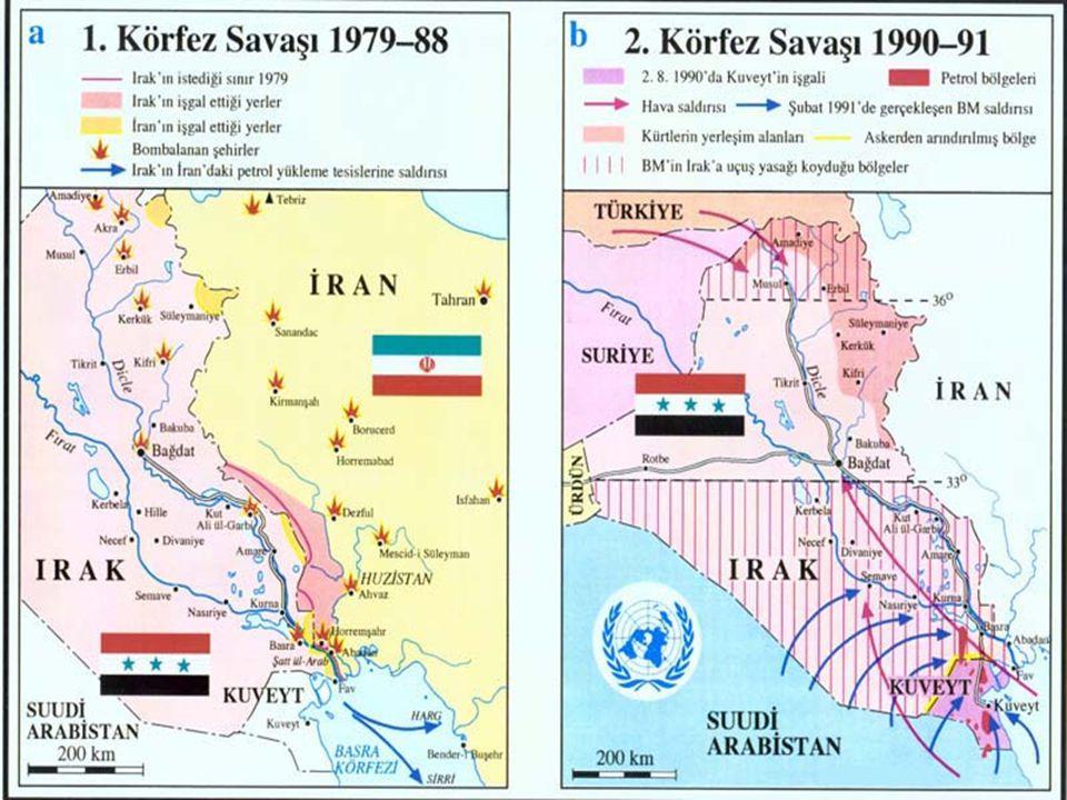 1990'li yıllar Orta Doğuda bir çatışmayla başladı.
