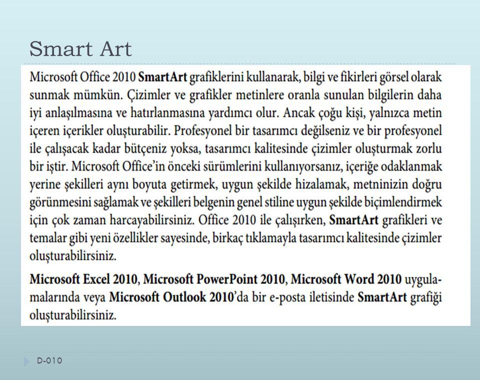 Smart Art D-010