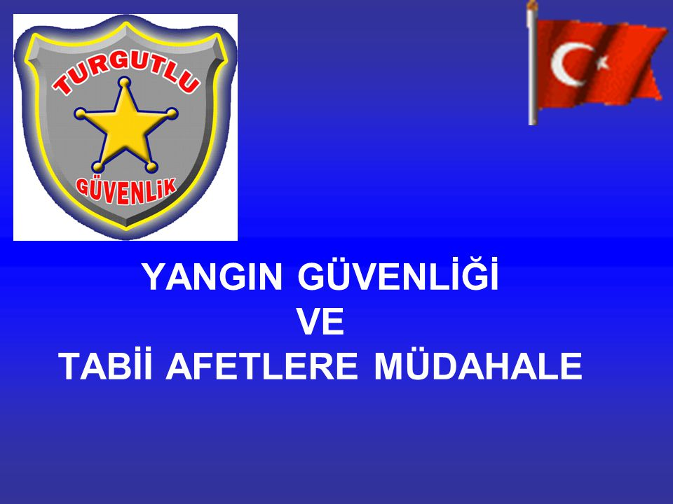 İTFAİYE TEŞKİLLERİ Türkiye de ilk itfaiye teşkili İstanbul a aittir.