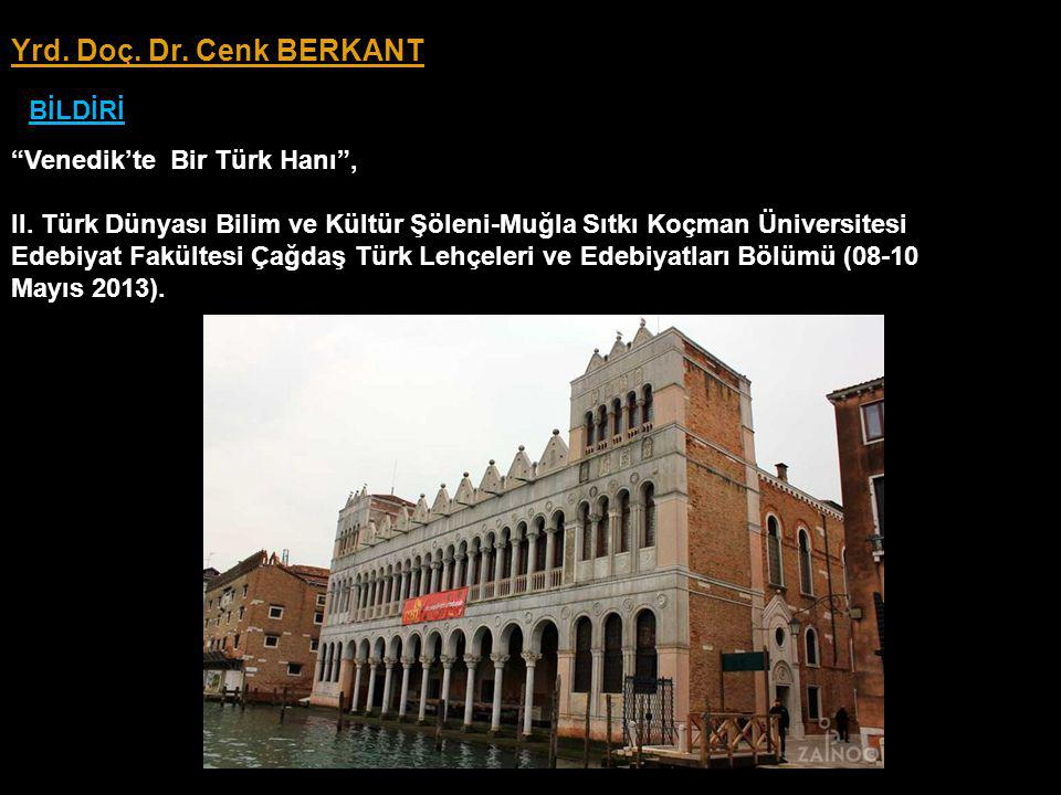 Venedik'te Bir Türk Hanı , II.